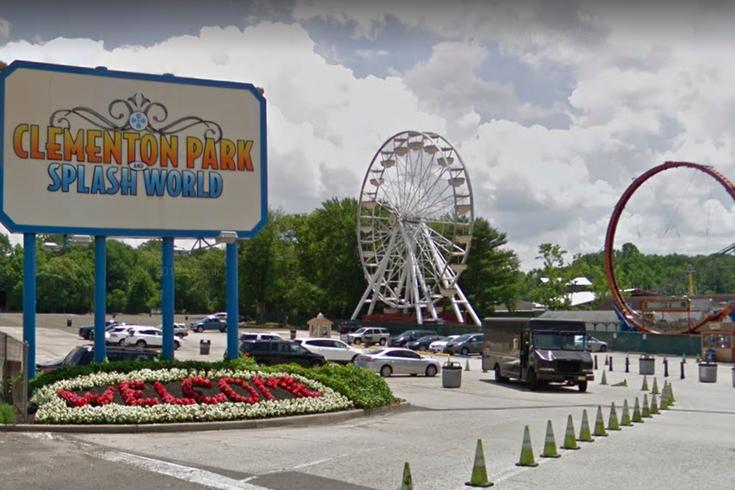 Clementon Park Auction