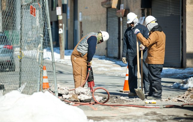 Carroll - PGW Workers in Cold Weather