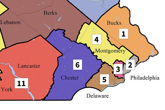 Chester New Jersey Map.The New Maps A Visual Guide To Your Congressional District