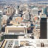 Stock_Carroll - Aerial view of University City and West Philadelphia