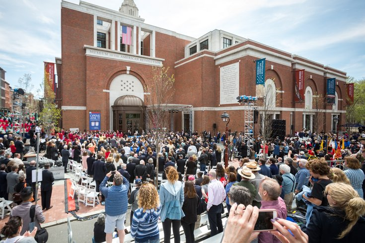 Carroll - Museum of the American Revolution Opening