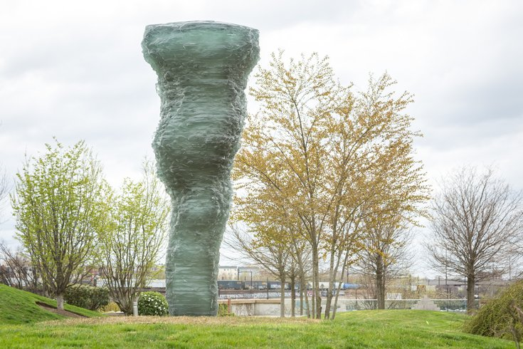 Carroll - Sculpture by Ursula von Rydingsvard at the Philadelphia Museum of Art's Anne d'Harnoncourt Sculpture Garden