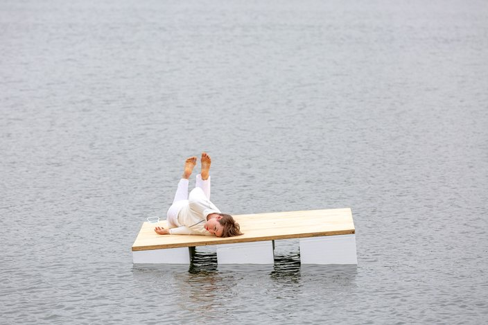 Carroll - Trisha Brown Dance Company Raft Piece