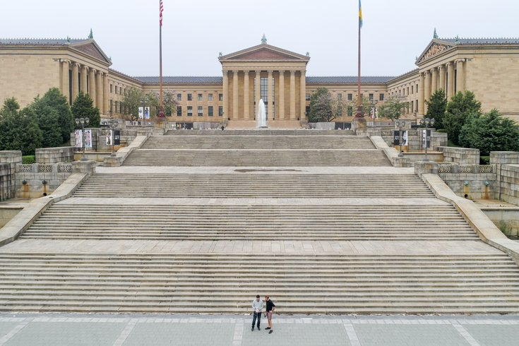 Brett Tiagwad - Drone photo Philadelphia Museum of Art