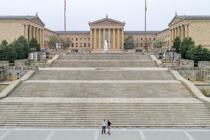 Brett Tiagwad - Drone photo Philadelphia Museum of Art