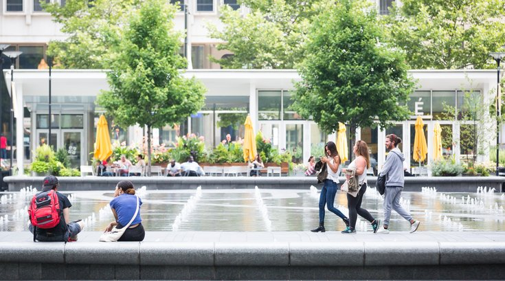Carroll - Dilworth Park in the Summer