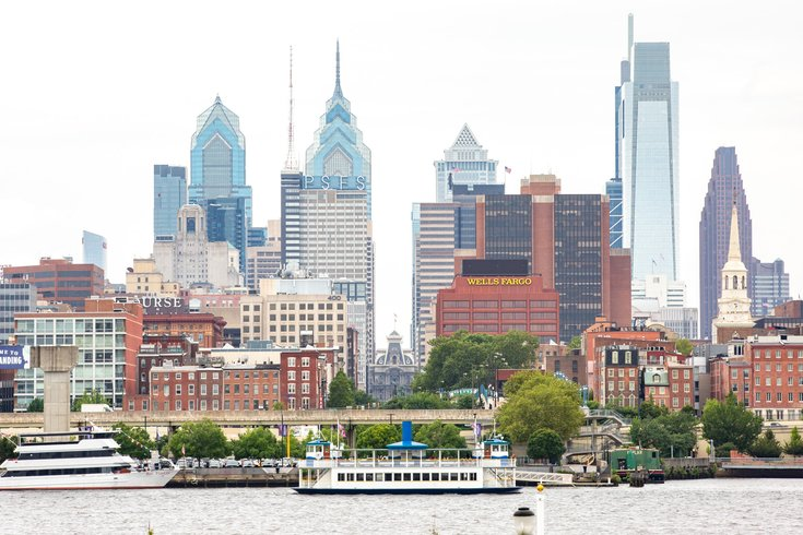 Carroll - Philadelphia Skyline and Delaware River