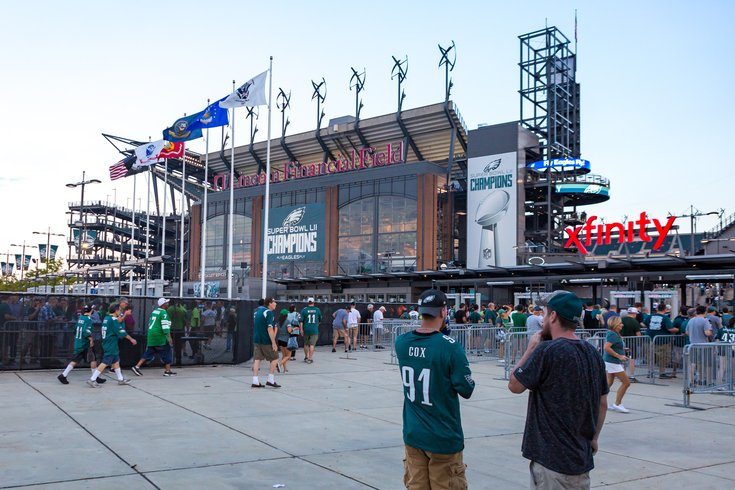 Carroll - Lincoln Financial Field