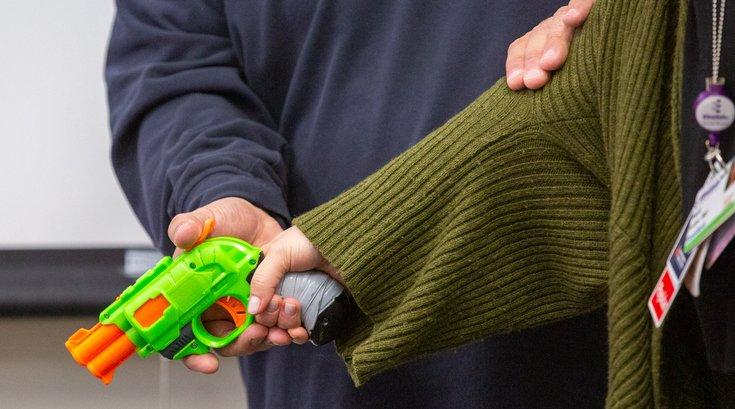 Carroll - Einstein Gun Safety Demo