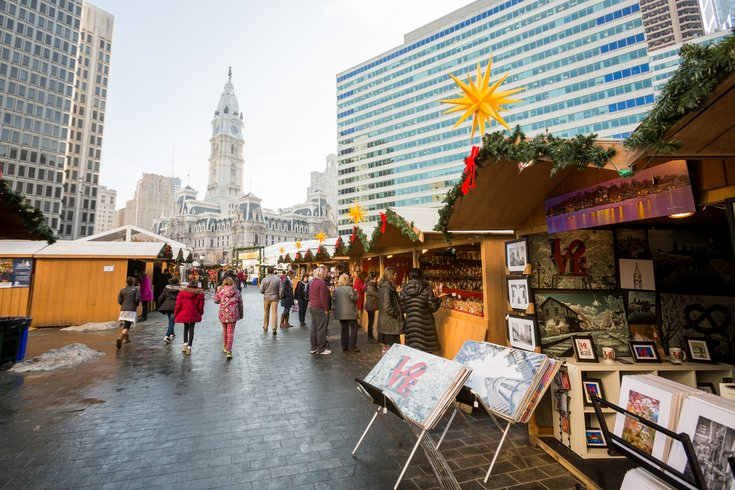 Carroll - Christmas Village at LOVE Park