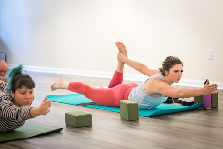 We Tried It East Fall S New Yoga Studio Yoga Brain Phillyvoice