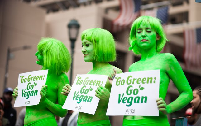 Carroll - PETA Green Beauties in Center City