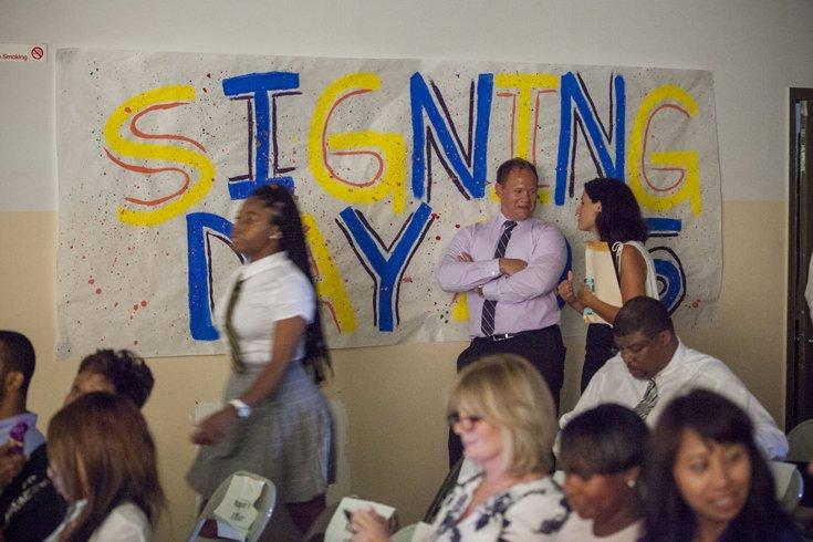 Carroll - Signing Day Cristo Rey