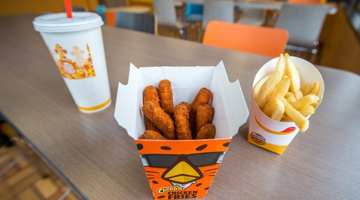 Carroll - Bad For You Burger King Cheetos Chicken Fries
