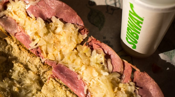 Carroll - Bad For You Subway Reuben