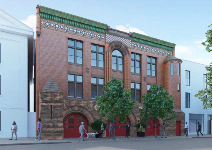 Firehouse Rendering One