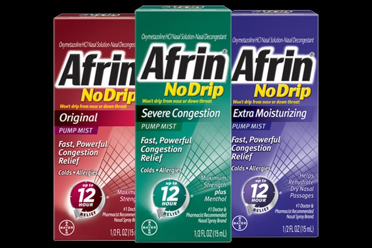 Best to skip the Afrin and other nasal sprays when you get a