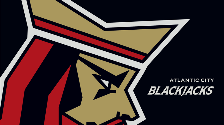 Atlantic City Blackjacks logo