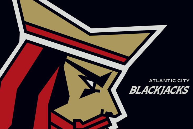Atlantic City Blackjacks logo