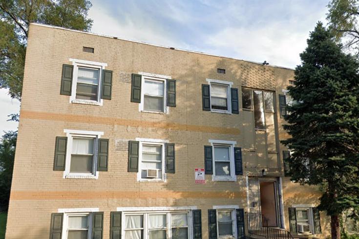 Camden apartment building fire