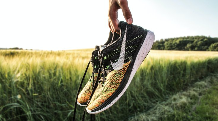 Athletic shoes and injury