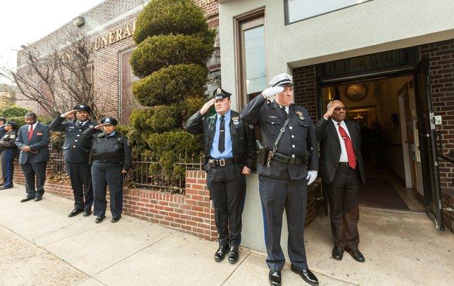 Carroll - Viewing for Officer Robert Wilson III