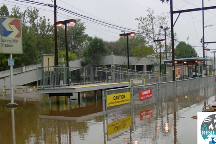 Study examines climate-related risks to SEPTA's Manayunk