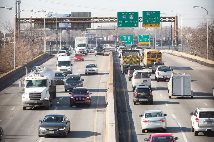 Inrix traffic report philly