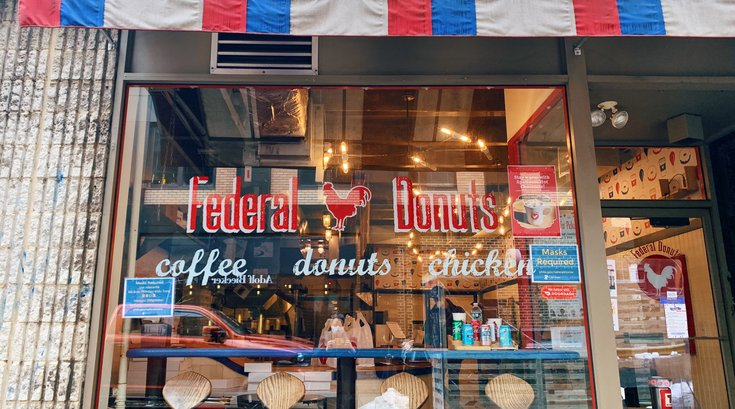 federal donuts sansom reopening