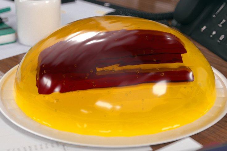 the office stapler jell-o contest
