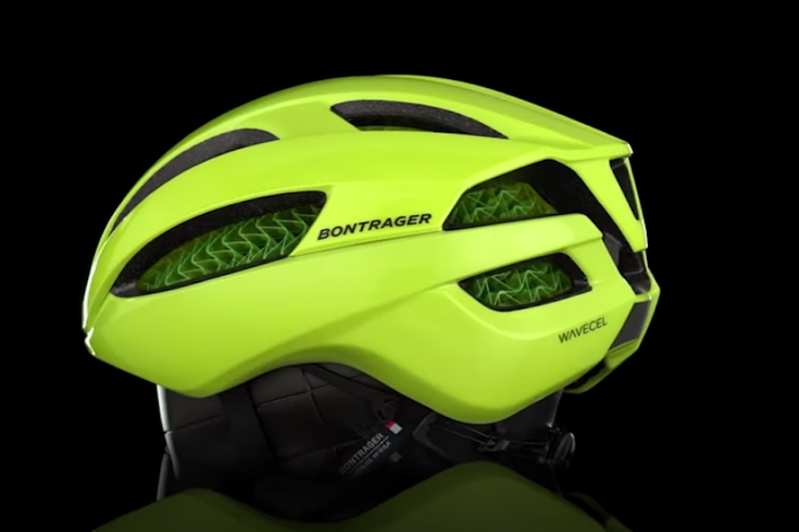 concussion preventing bike helmet