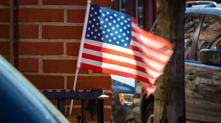 Carroll - American flag