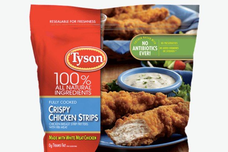 tyson foods recall chicken strips 03222019