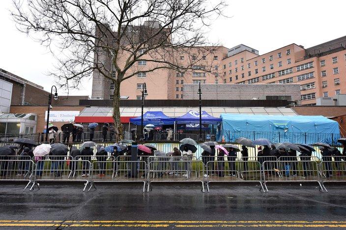 Coronavirus New York Elmhurst Hospital