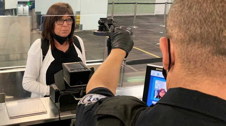 PHL biometric scanning