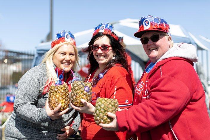 Phillies Opening Day Fireball Fans 10282019