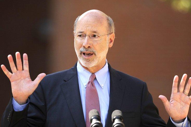 Tom Wolf Pennsylvania major disaster declaration