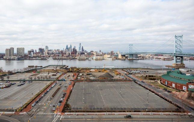 Carroll - Camden Waterfront and Philadelphia Skyline