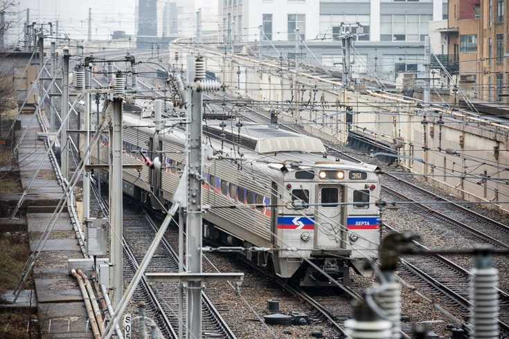 Stock_Carroll - SEPTA Regional Rail Train