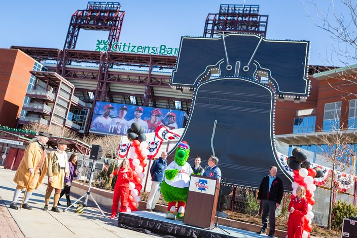 Carroll - New at Citizens Bank Park for 2019 Veterans Stadium Liberty Bell