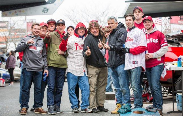 Carroll - Phillies Home Opener