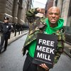 Carroll - Wallo267 at a Meek Mill hearing outside Philadelphia Municipal Court