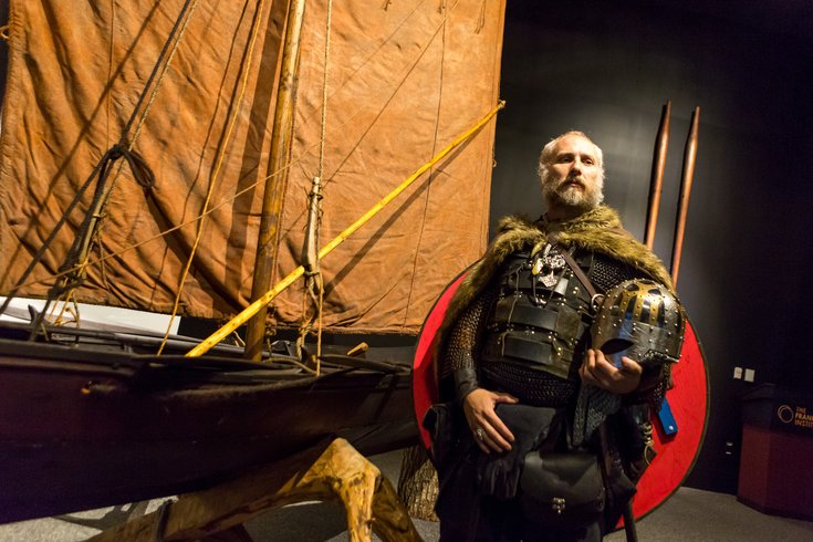 Carroll - Vikings exhibit at Franklin Institute