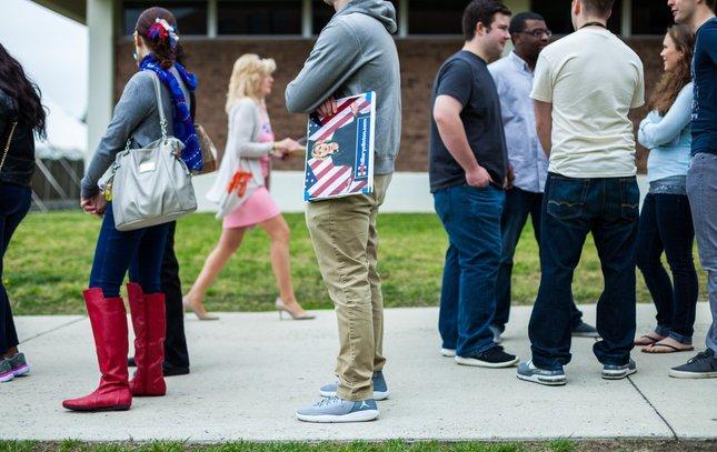 Carroll - Hillary Clinton Rally Camden County College