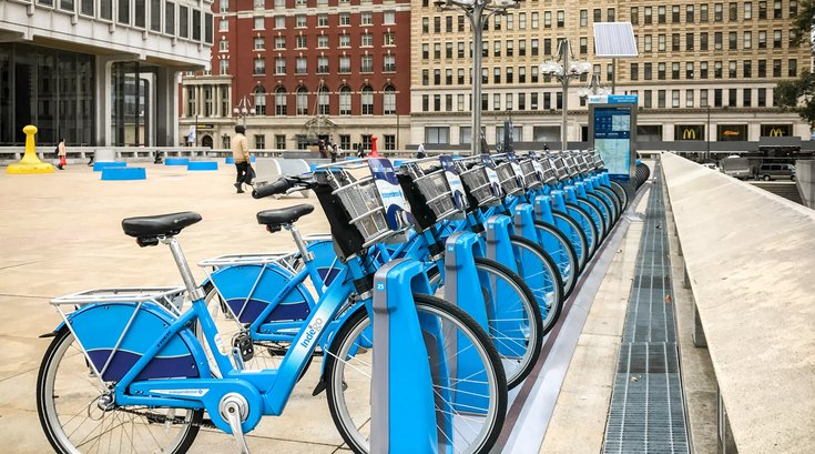 Stock_Carroll - Indego Bike Share Bikes