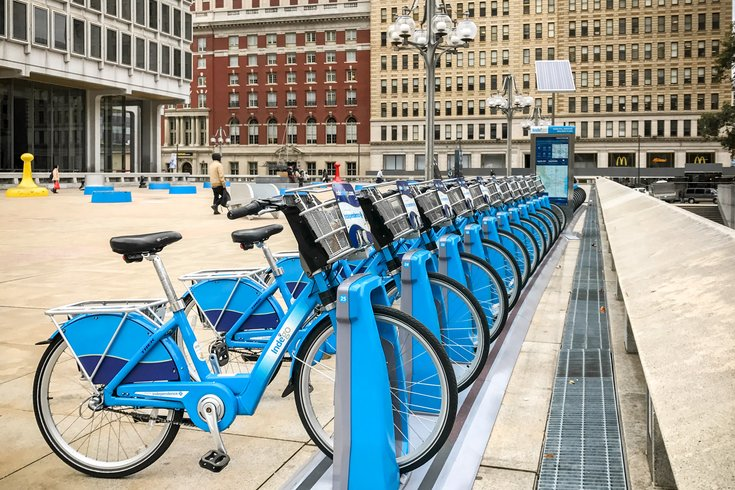 Stock_Carroll - Indego Bike Share Bikes