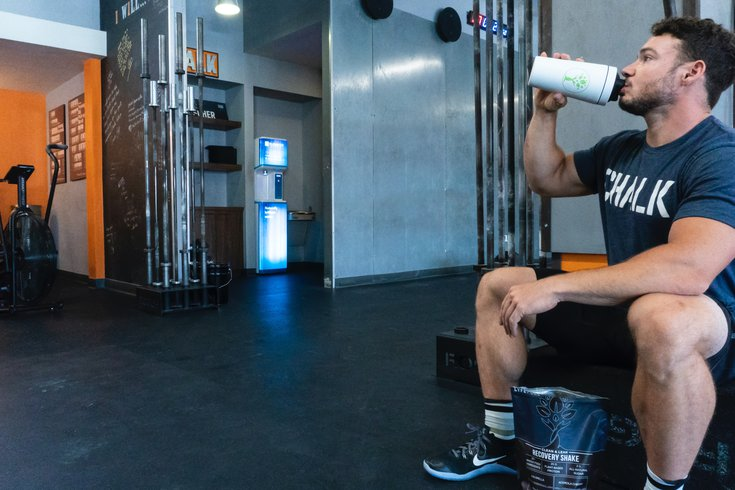 Protein Shake Workout Recovery