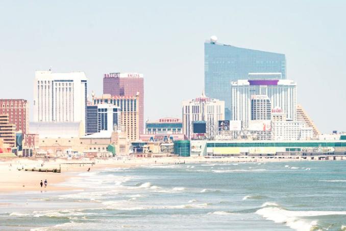 Atlantic City makeshift hospital new jersey coronavirus