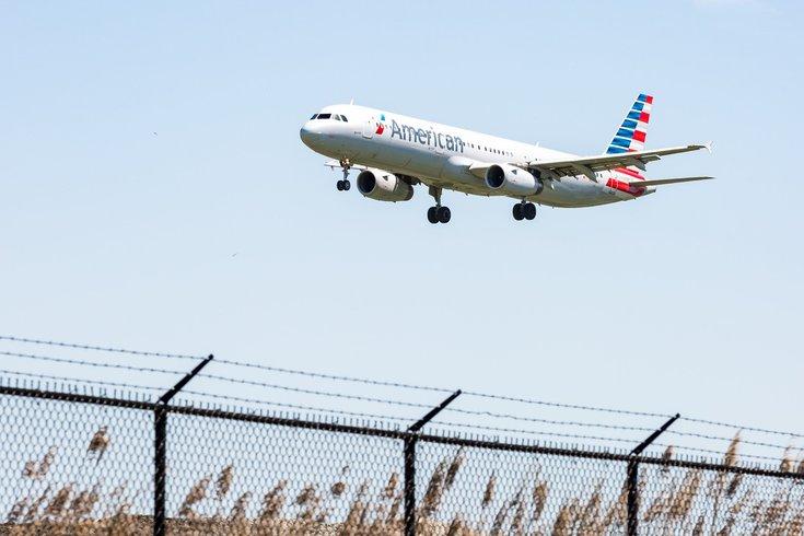 American Airlines PHL edinburgh