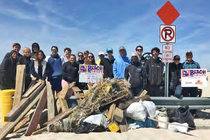 Clean Ocean Action beach sweep 04032019